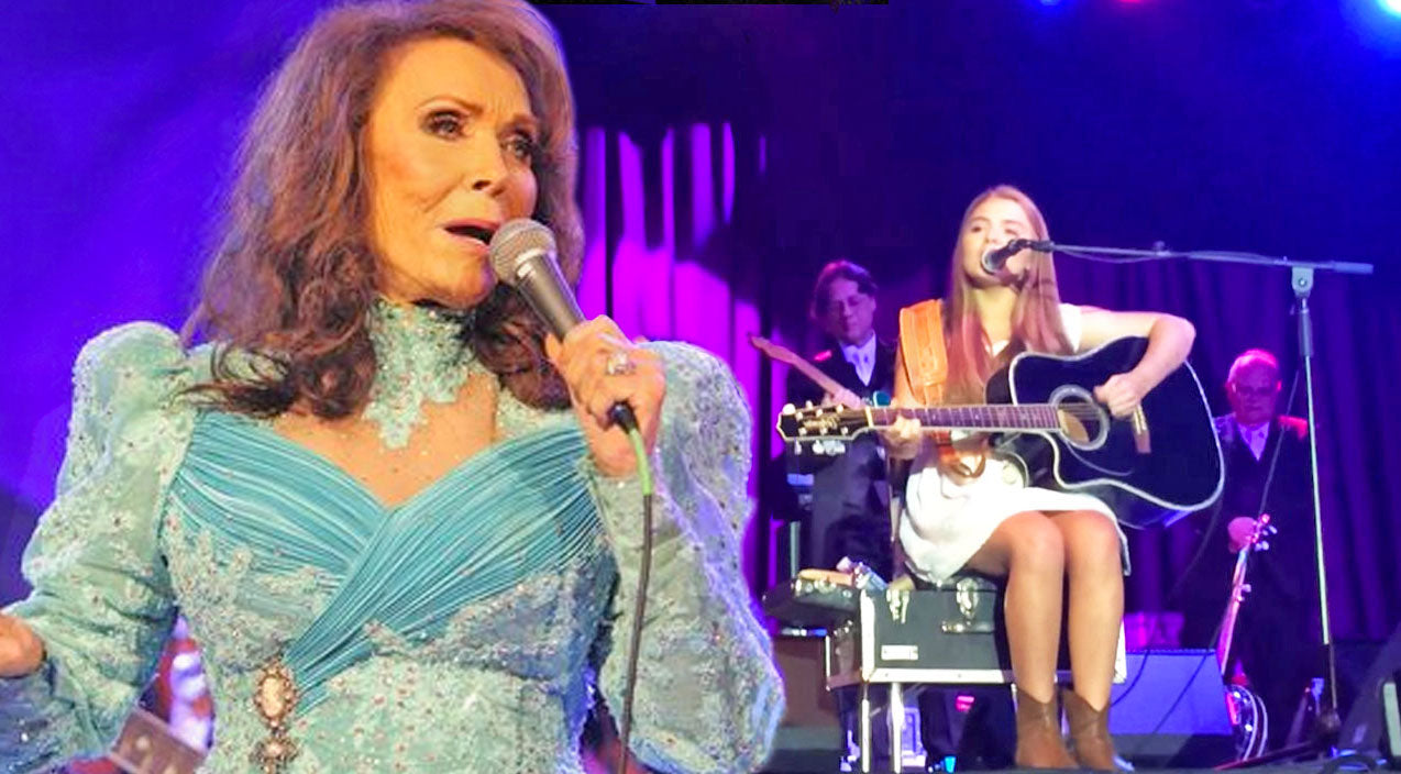 Loretta lynn Songs | Loretta Lynn's 14-Year-Old Granddaughter Performs Beautiful Tribute To Her Grandmother (WATCH) | Country Music Videos