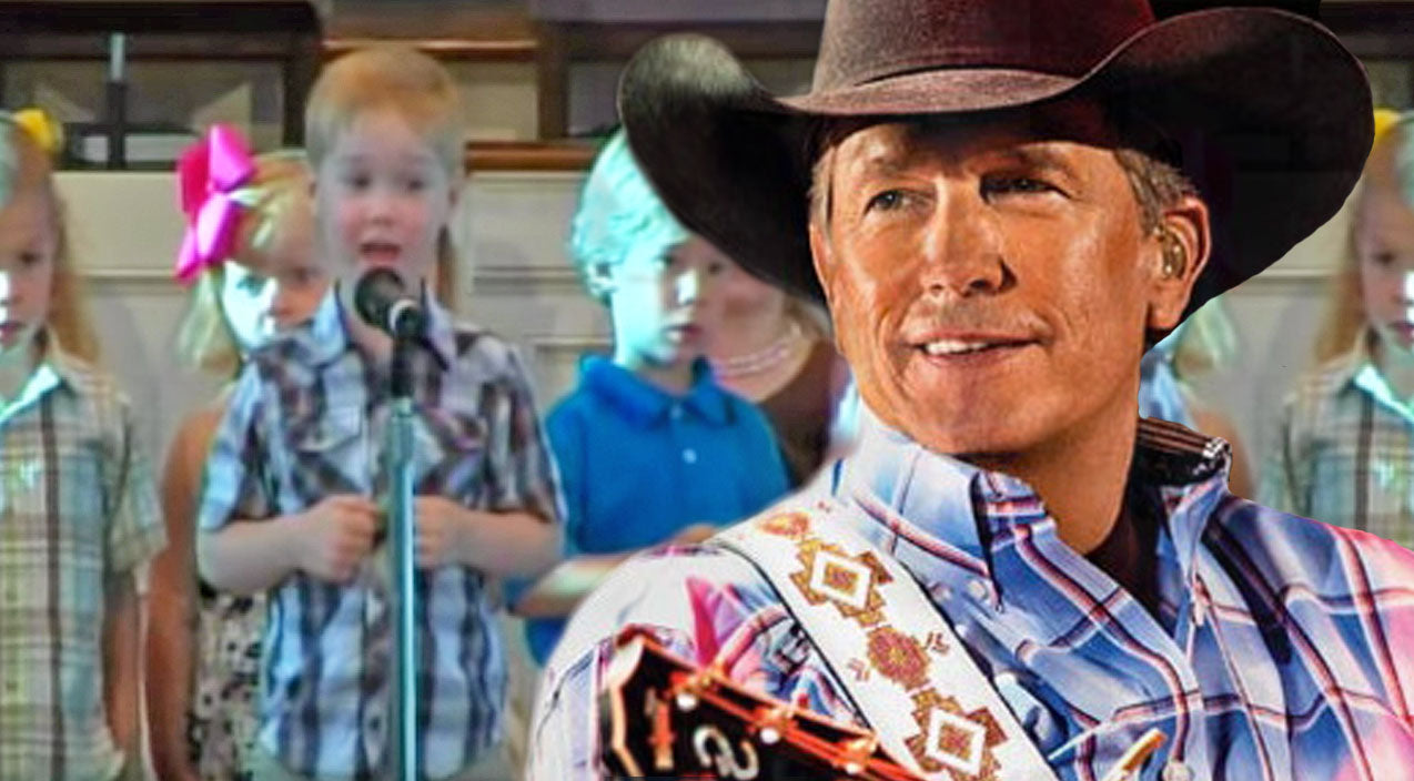 George strait Songs | 4-Year-Old Boy Stuns Audience During Church Performance With Impromptu George Strait Song | Country Music Videos
