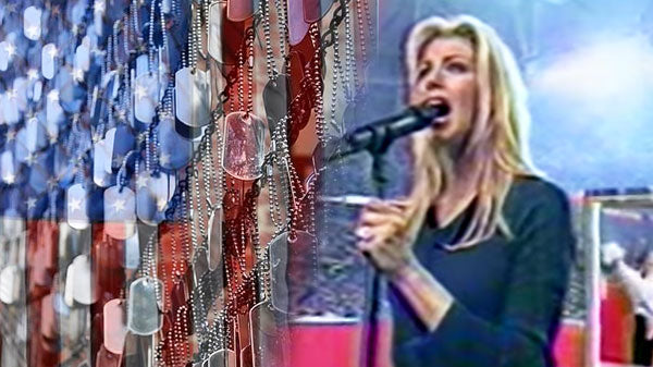 Faith hill Songs | Faith Hill Singing the National Anthem (WATCH) | Country Music Videos