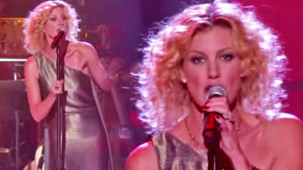 Faith hill Songs | Faith Hill - If My Heart Had Wings (LIVE) (VIDEO) | Country Music Videos