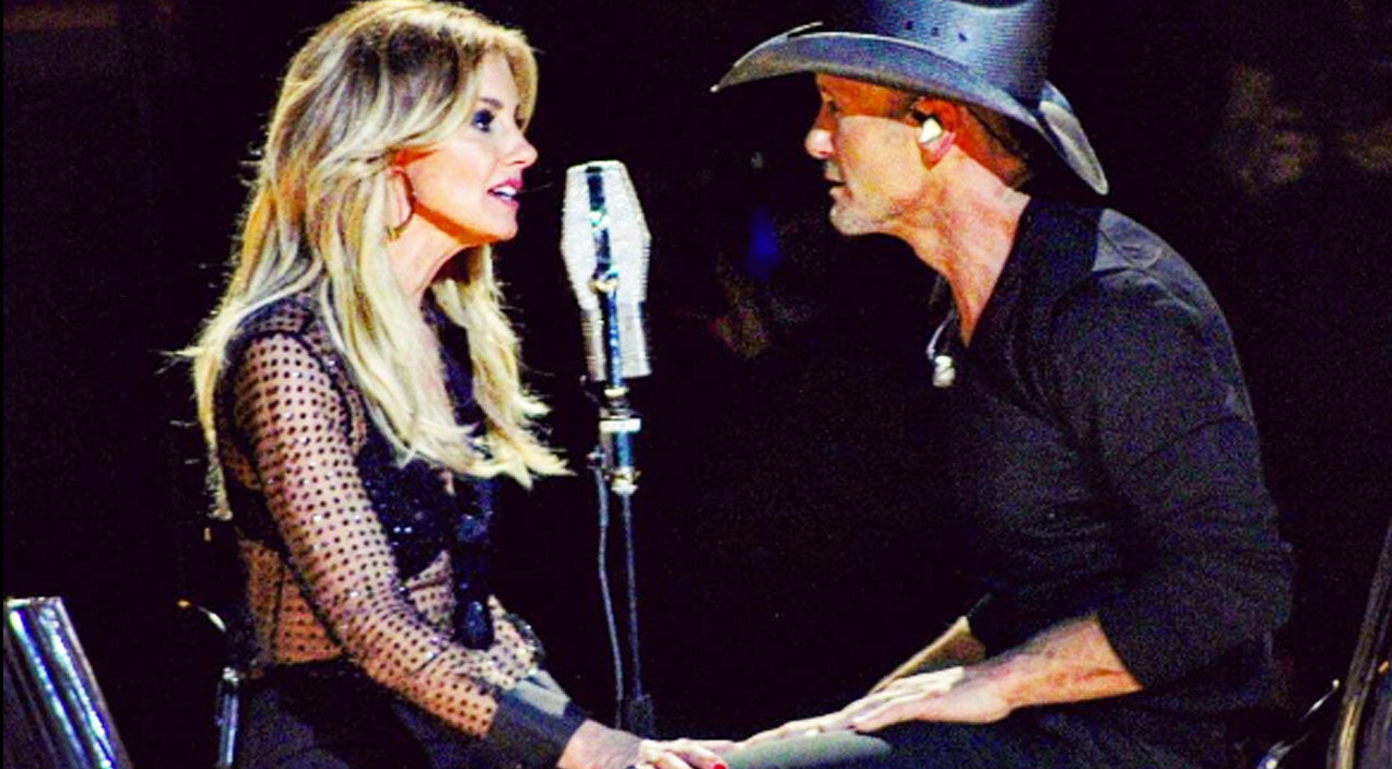 Tim mcgraw Songs | Faith Hill & Tim McGraw Can't Keep Their Eyes Off Each Other In Romantic Duet | Country Music Videos