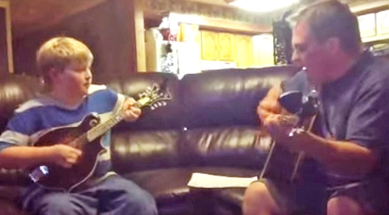 Lynyrd skynyrd Songs | Dad Starts Playing A Skynyrd Favorite. But When His Son Joins In On Mandolin? WOW! | Country Music Videos