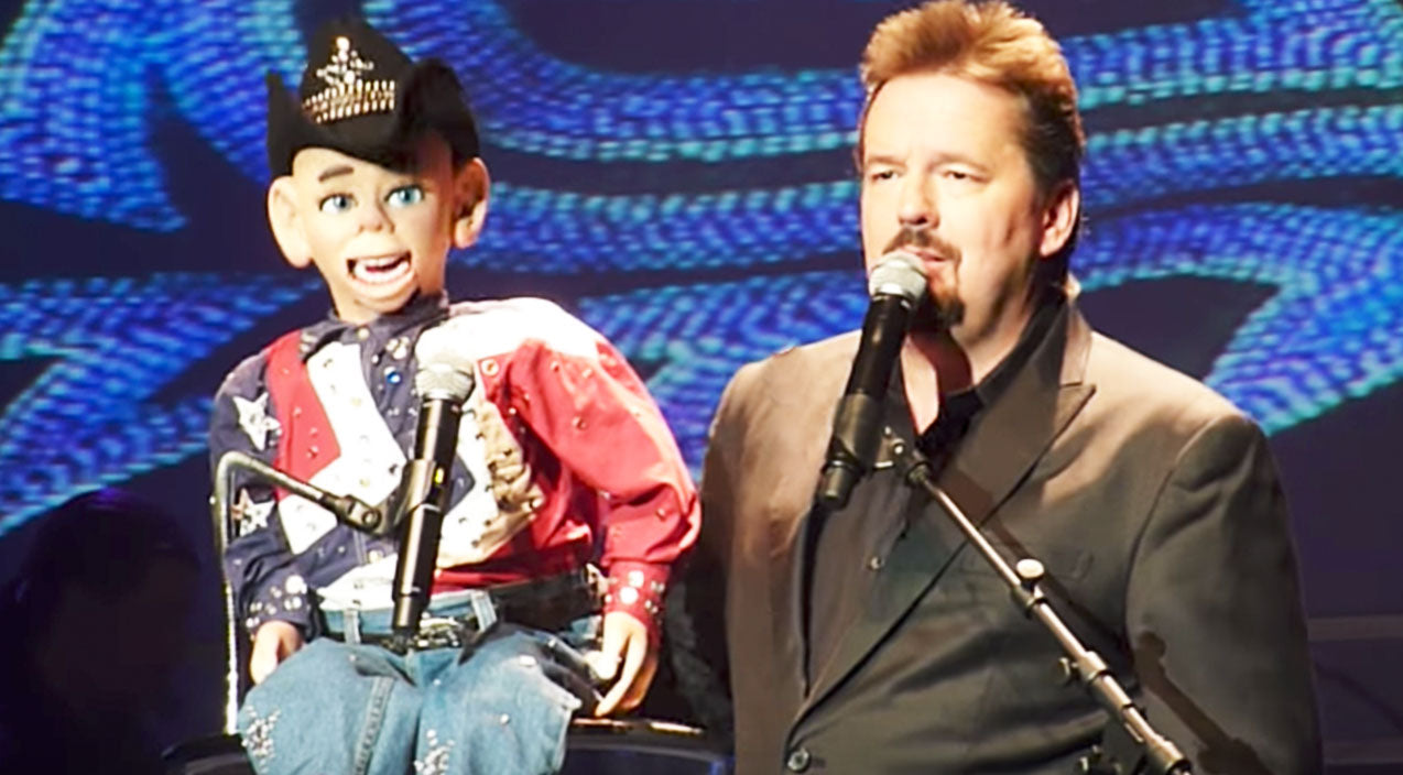 Garth brooks Songs | Ventriloquist Terry Fator & Country Singer Puppet Team Up For 'Friends In Low Places' | Country Music Videos