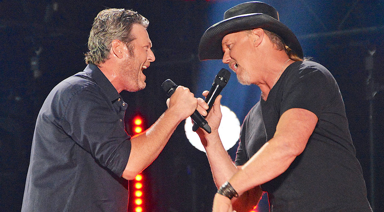 Trace adkins Songs | Blake Shelton & Trace Adkins Rock CMA Music Fest With Rambunctious 'Hillbilly Bone' | Country Music Videos
