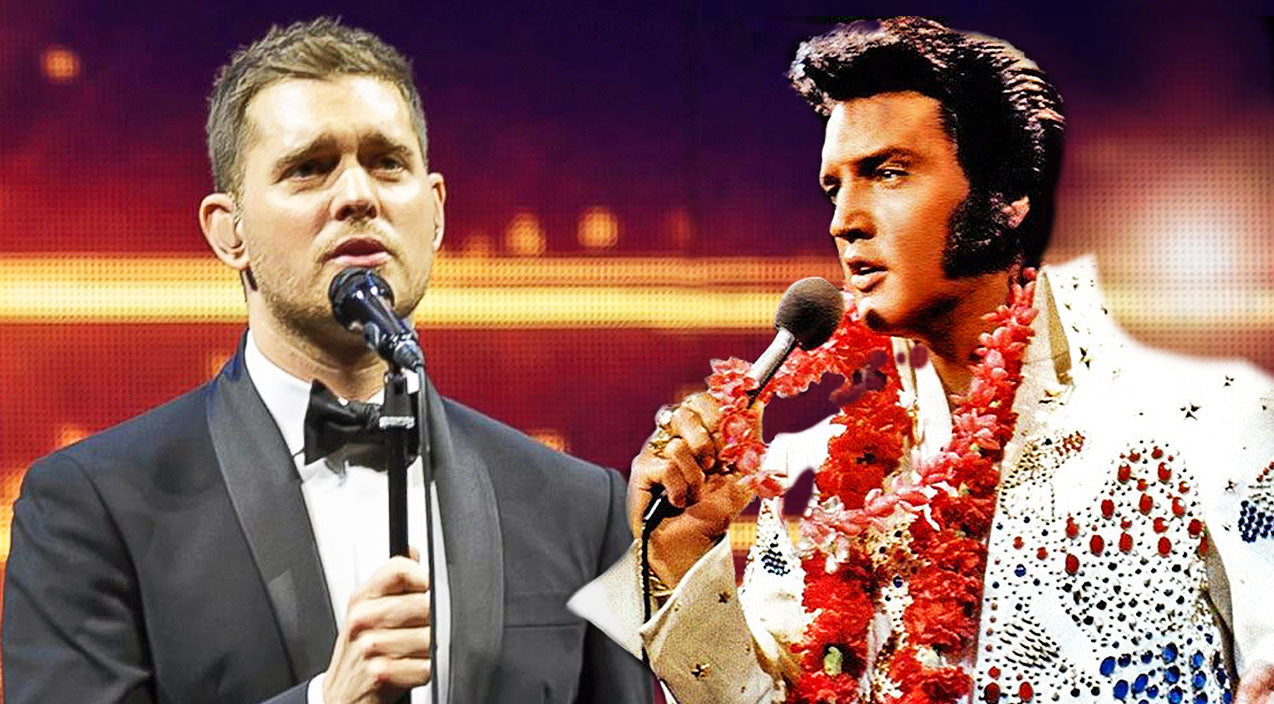 Elvis presley Songs | Virtual Duet Between Elvis Presley & Michael Bublé Is Sure To Heat Things Up | Country Music Videos