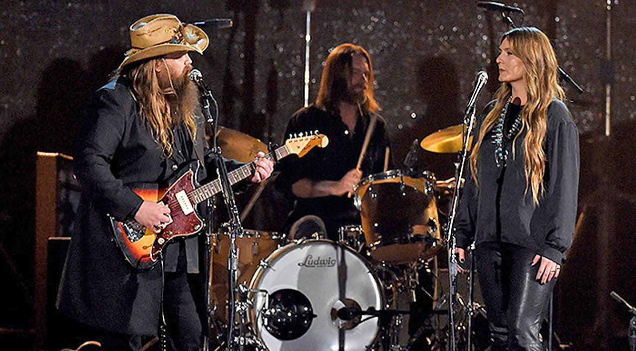 Chris stapleton Songs | Chris Stapleton And Wife Steal ACM Awards With Mind-Blowing Performance | Country Music Videos