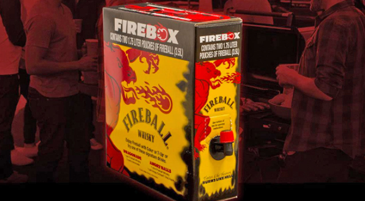 Boxed Fireball Is Here To Up Your Christmas Party Game | Country Music Videos