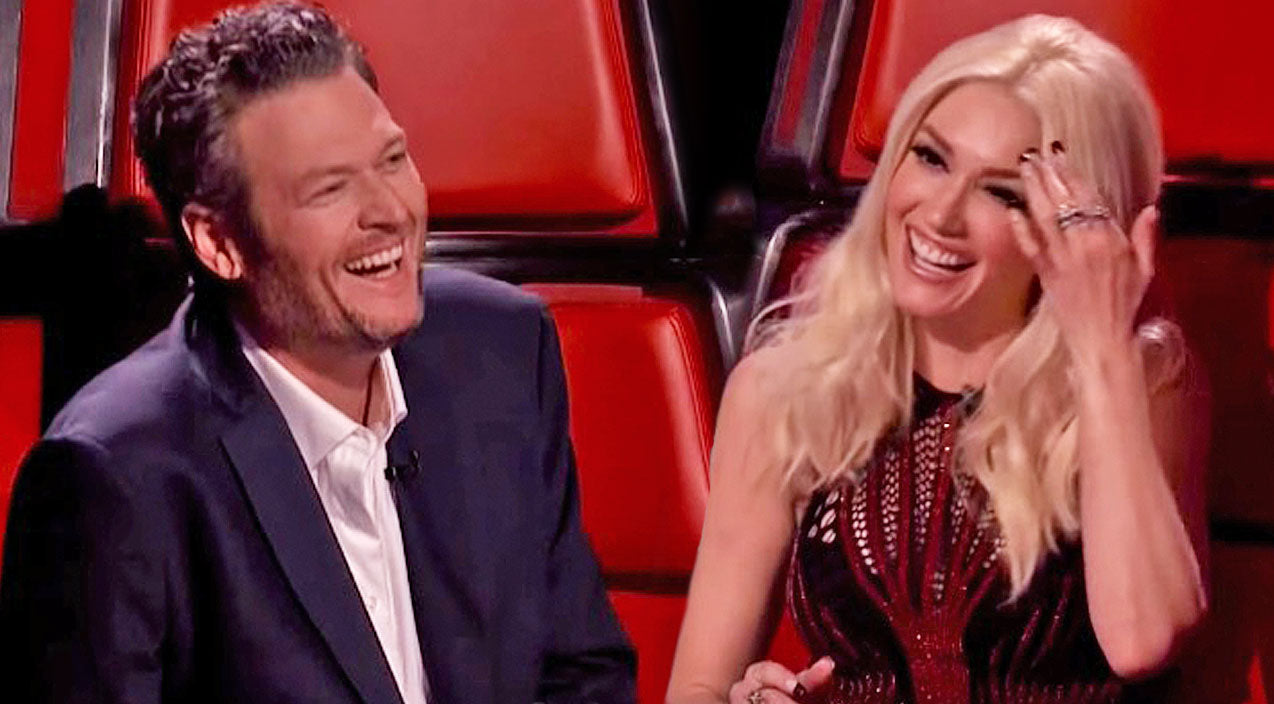 The voice Songs | Blake Shelton & Gwen Stefani Get Flirtatious Behind The Scenes On 'The Voice' | Country Music Videos