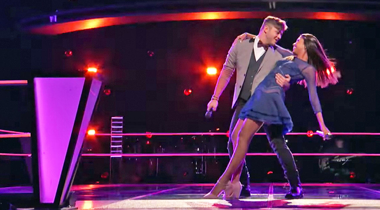 Blake shelton Songs | Blake Shelton's Talented Teens Bust Out Full On Choreographed Dance In Flirty Duet | Country Music Videos