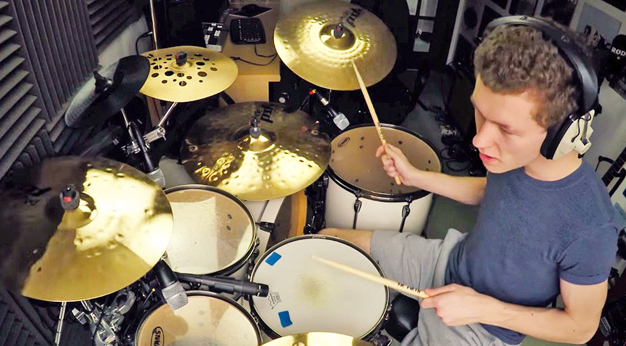 Lynyrd skynyrd Songs | 17-Year-Old Scottish Drummer's Pounding 'Free Bird' Solo Will Leave You Awestruck | Country Music Videos