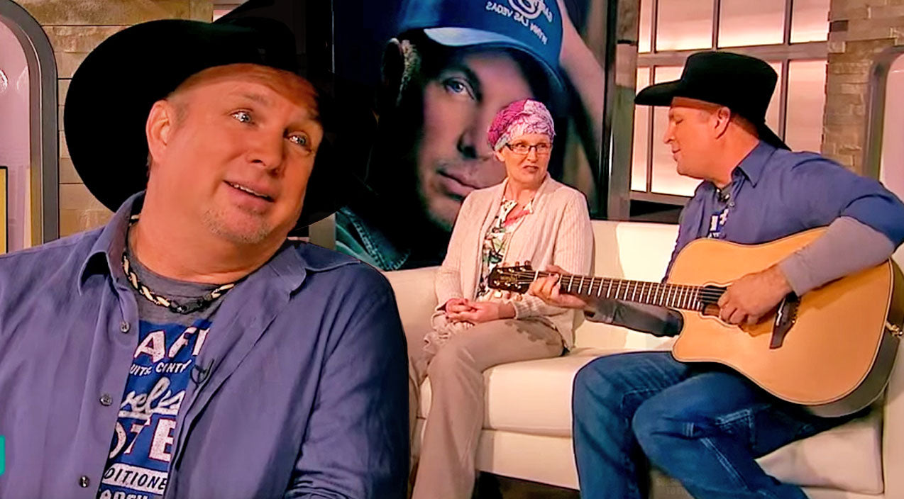 Garth brooks Songs | Garth Brooks Relives Emotional Moment With Cancer Patient When She Surprises Him In An Interview (WATCH) | Country Music Videos