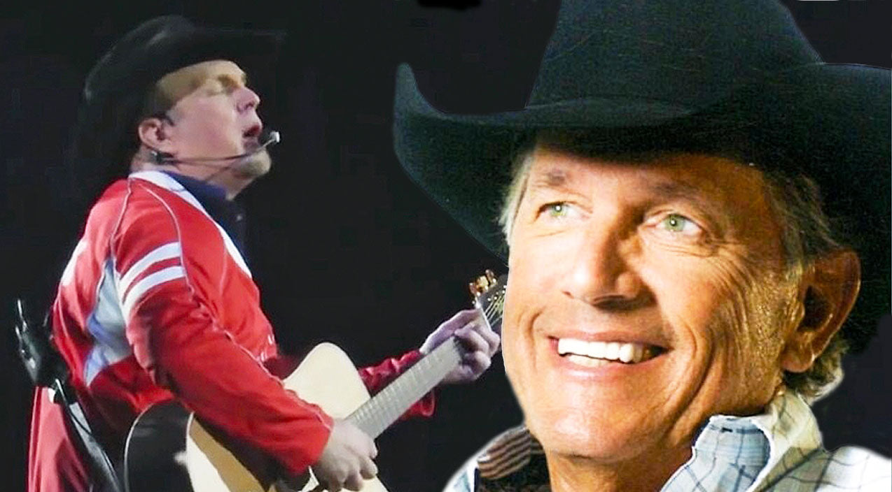 George strait Songs | Garth Brooks Leaves The Crowd In Awe With Acoustic Rendition Of 'Amarillo By Morning' | Country Music Videos