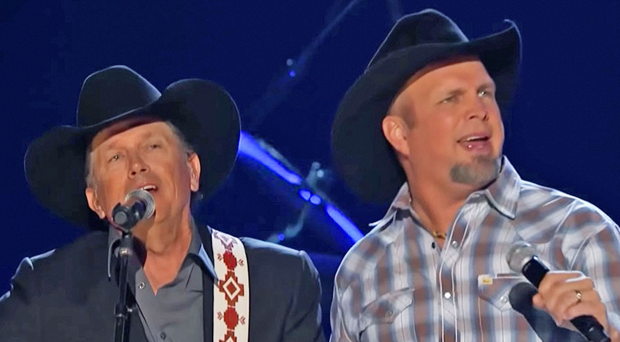 Modern country Songs | Garth Brooks' 'Friends In Low Places' Collaboration With George Strait Is The Most Epic Thing Ever | Country Music Videos