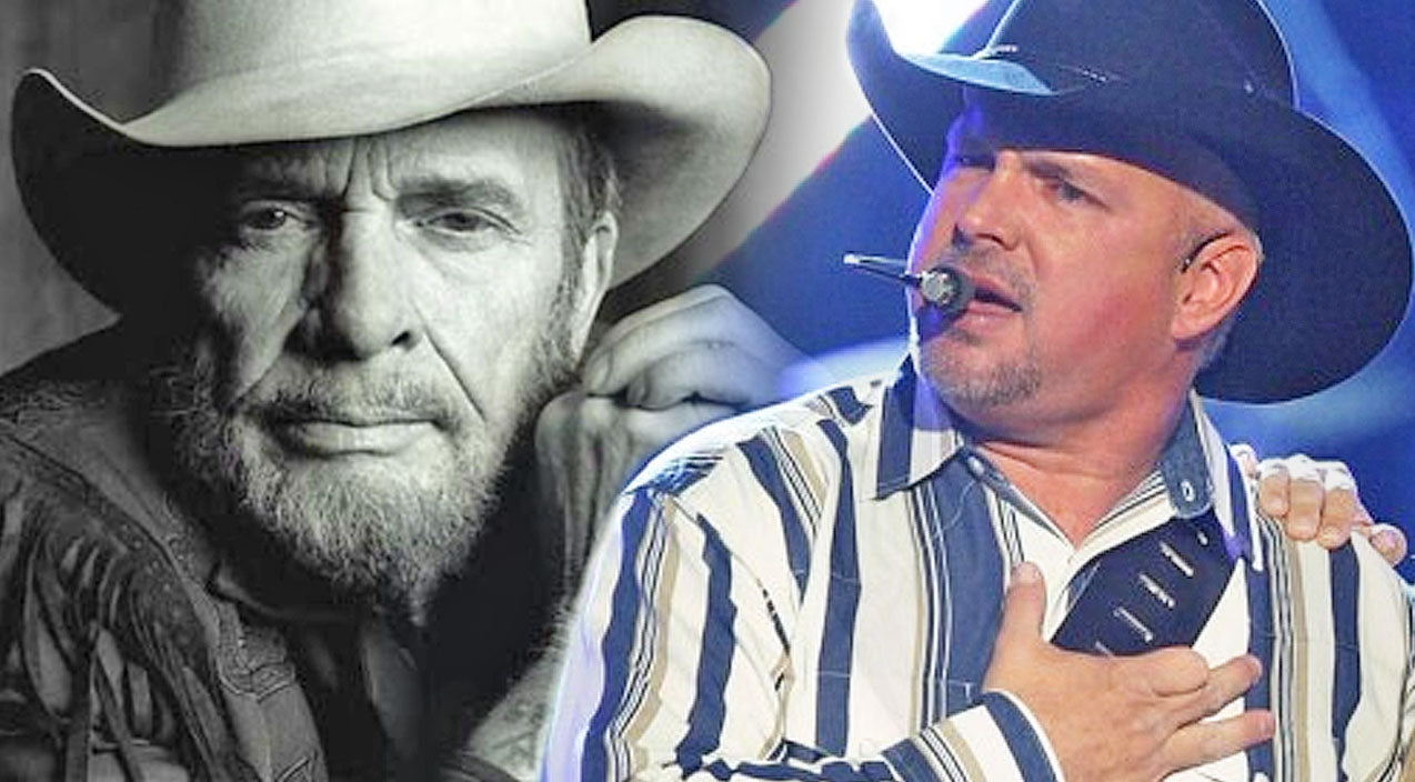 Merle haggard Songs | Garth Brooks Pays Tribute To Merle Haggard At First Concert Following His Death | Country Music Videos