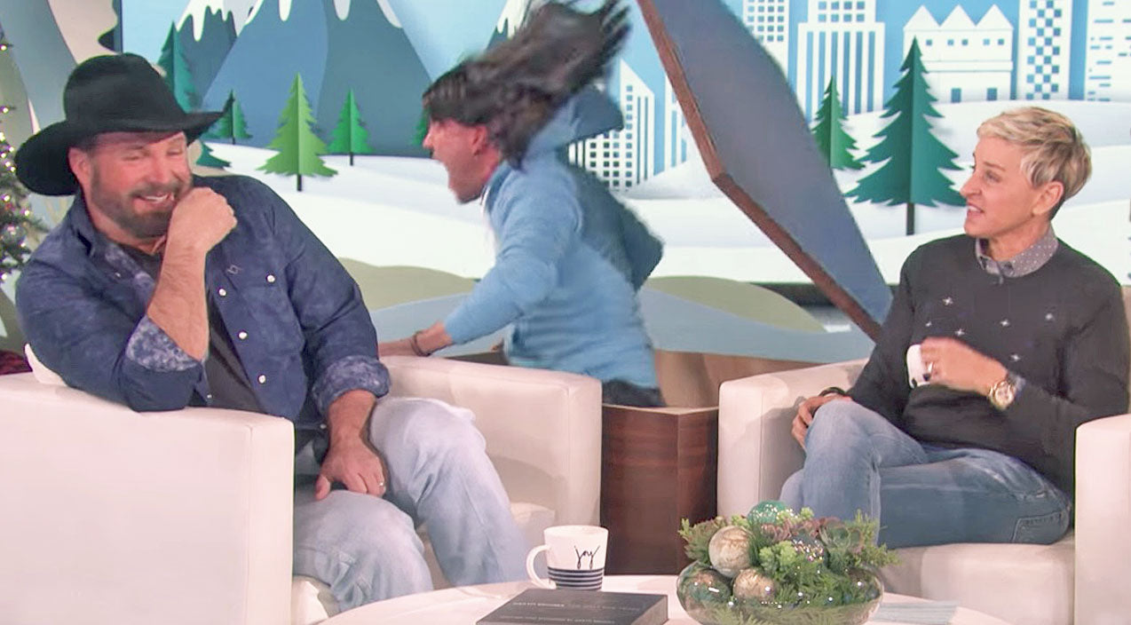 The ellen show Songs | Garth Brooks' Reaction To Being Scared By Ellen Is Not At All What You'd Expect | Country Music Videos