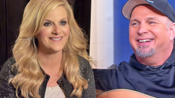 Trisha yearwood Songs | Trisha Yearwood was 'nervous' singing with Garth Brooks (Interview) (VIDEO) | Country Music Videos