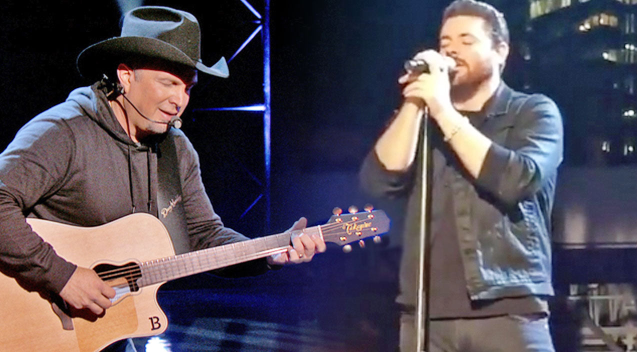 Modern country Songs | Garth Brooks & Chris Young Enchant With Inspirational Duet Of 'The River' | Country Music Videos