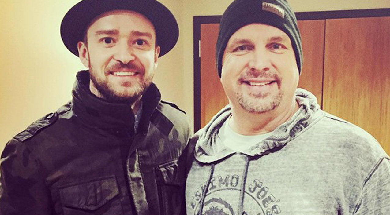 Modern country Songs | Garth Brooks Gives Justin Timberlake Birthday Surprise He'll Never Forget | Country Music Videos