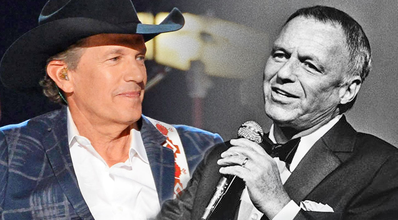 George strait Songs   Frank Sinatra And George Strait Dazzle With 'Fly Me To The Moon' Virtual Duet   Country Music Videos