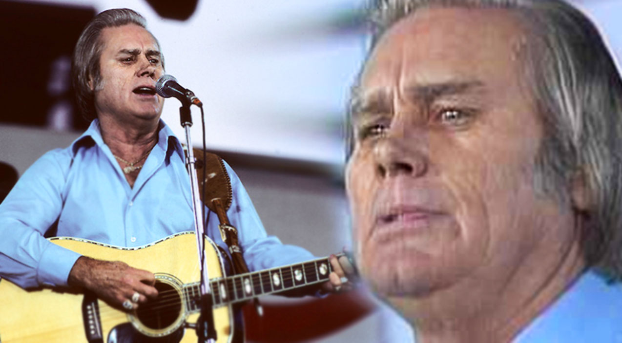 George jones Songs | George Jones - Tennessee Whiskey (Live at Farm Aid 1985) | Country Music Videos
