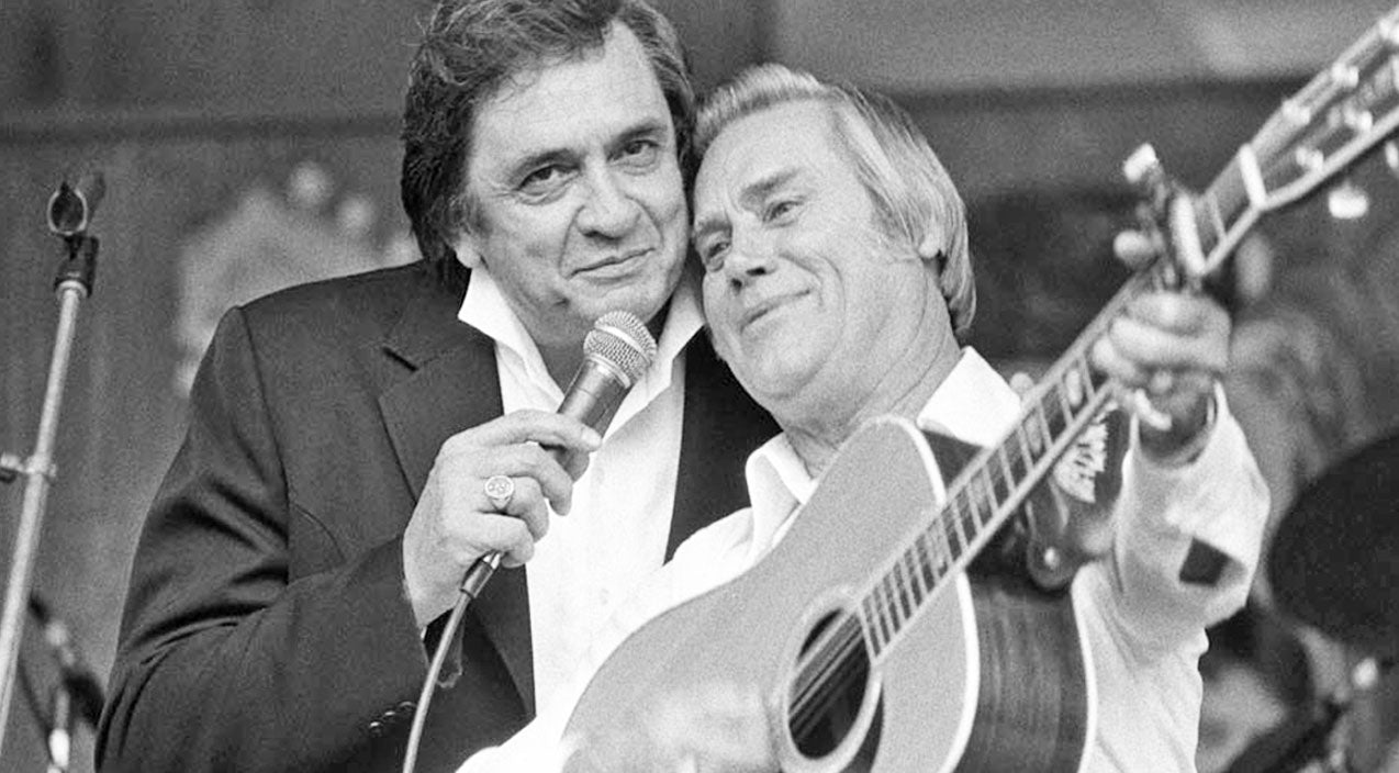 Johnny cash Songs | George Jones & Johnny Cash - I'll Say It's True (VIDEO) | Country Music Videos