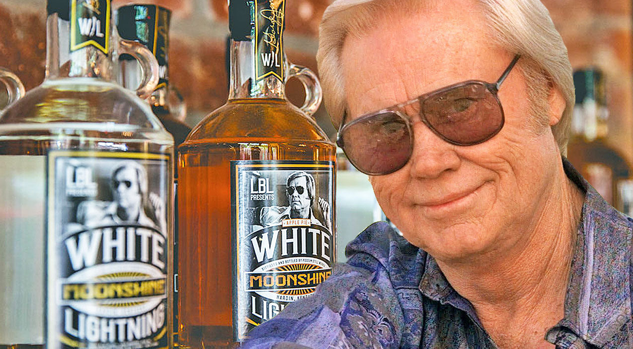 George jones Songs | George Jones' 'White Lightning' Moonshine & Vodka May Be Coming To A Store Near You | Country Music Videos