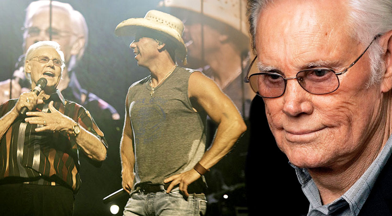 Kenny chesney Songs | George Jones Surprises Kenny Chesney On Stage With