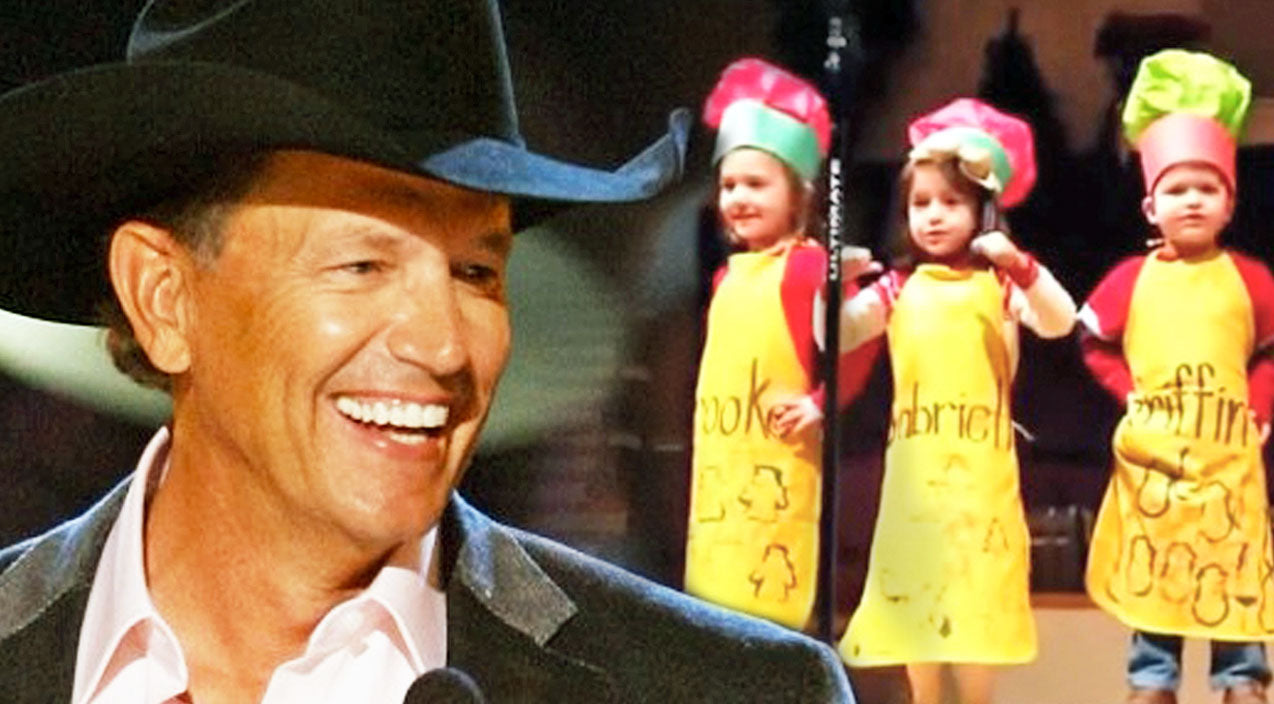 George strait Songs | Little Kids Sing George Strait's 'Christmas Cookies' In Sugary-Sweet Performance | Country Music Videos