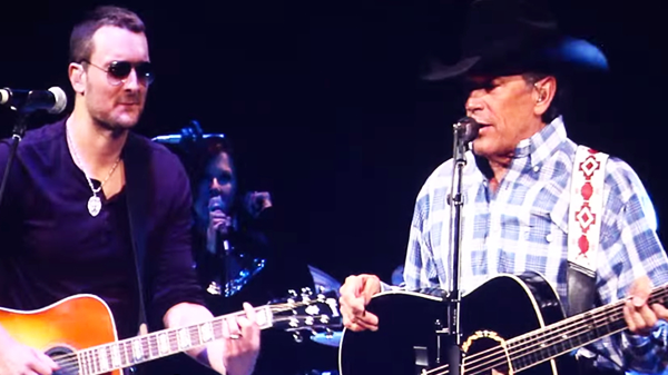 George strait Songs | George Strait & Eric Church - Cowboys Like Us | Country Music Videos