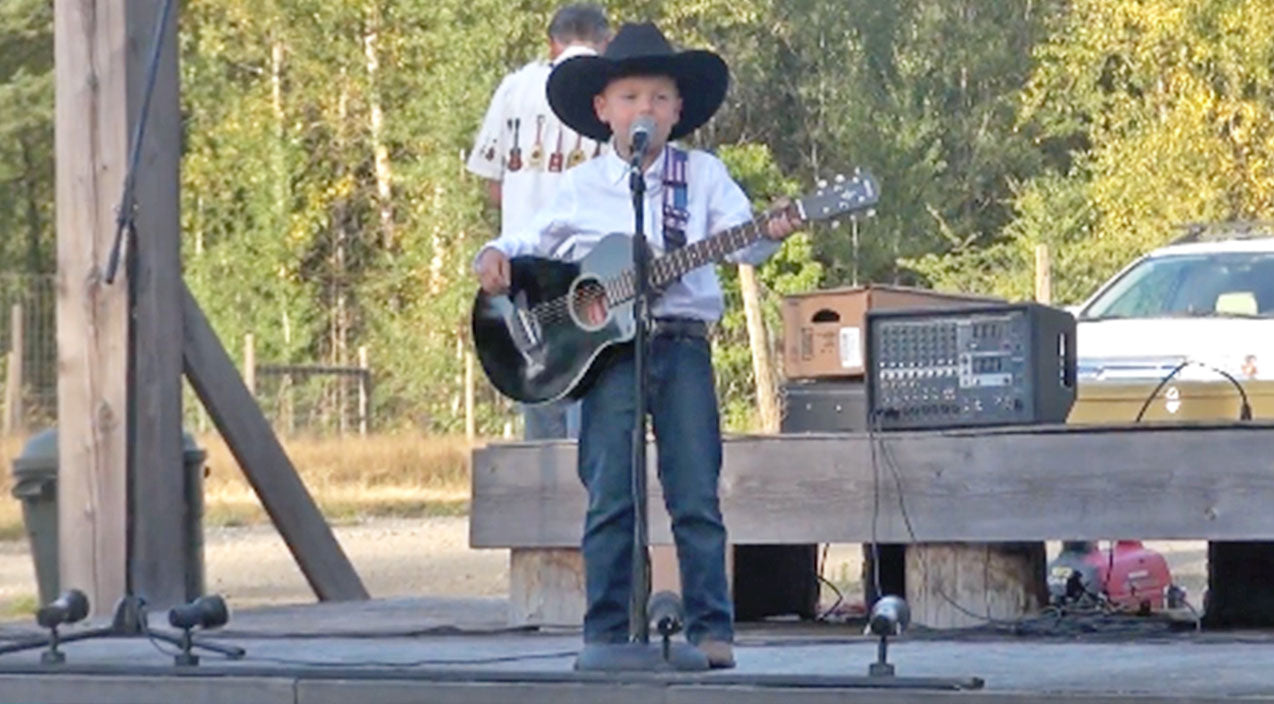 George strait Songs   Little George Strait Fan Wows Crowd With Spot-On 'Check Yes Or No' Performance   Country Music Videos
