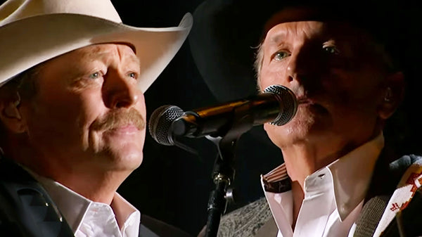 Alan jackson Songs | George Strait ft. Alan Jackson - He Stopped Loving Her Today (George Jones Tribute) (WATCH) | Country Music Videos