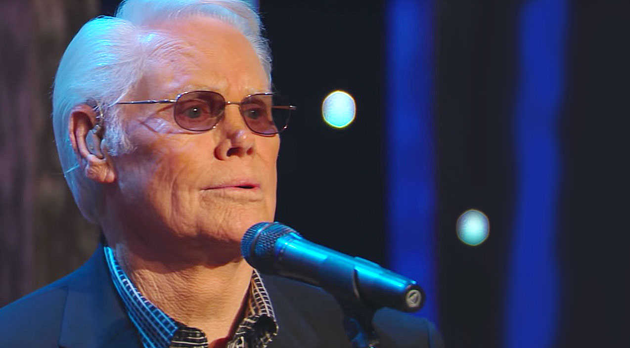 George jones Songs | George Jones Will Take You To Church With Heavenly Rendition Of 'Just A Closer Walk With Thee' | Country Music Videos