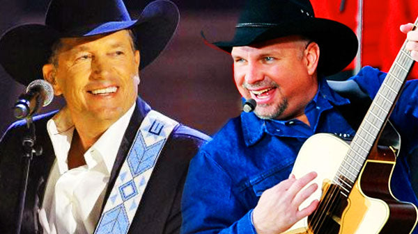 Garth Brooks and George Strait - Duet - The Dance and The Cowboy Rides Away (WATCH) | Country Music Videos