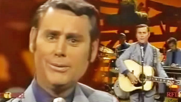 George jones Songs | George Jones - You Comb Her Hair (LIVE) (VIDEO) | Country Music Videos