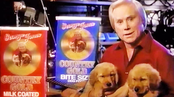 George jones Songs | George Jones' Dog Food Promo 1990's (VIDEO) | Country Music Videos