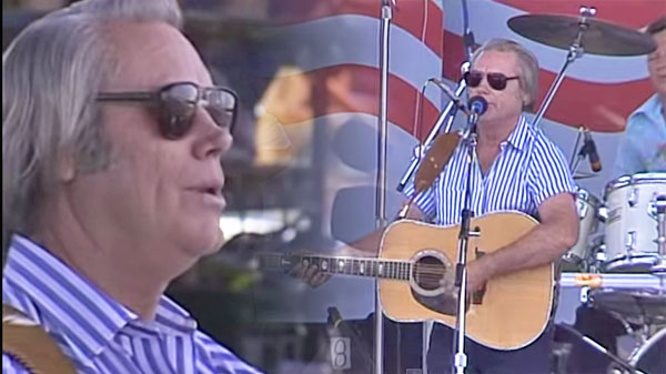 George jones Songs | George Jones - Who's Gonna Fill Their Shoes (LIVE at Farm Aid 1986) (VIDEO) | Country Music Videos