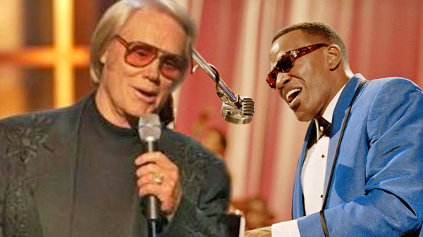 Ray charles Songs | George Jones and Ray Charles - We Didn't See A Thing (1984 Awards Show) (LIVE) (VIDEO) | Country Music Videos