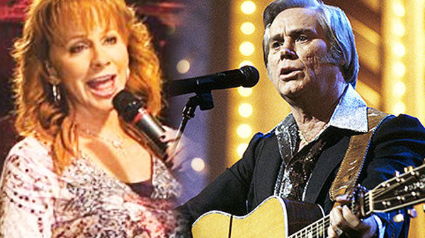 Reba mcentire Songs | Reba McEntire & George Jones - Me And Jesus (Rare Footage) (LIVE) (VIDEO) | Country Music Videos