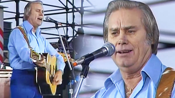George jones Songs | George Jones - The Race Is On (Live at Farm Aid 1985) (VIDEO) | Country Music Videos