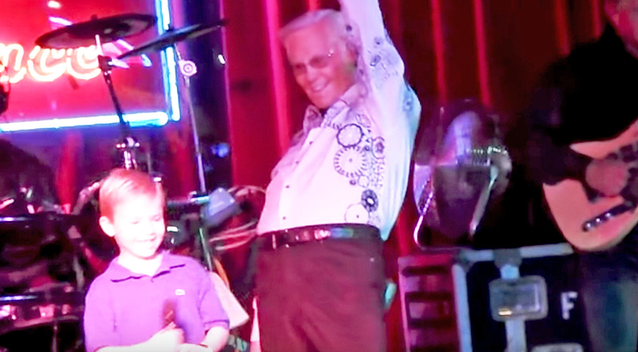 George jones Songs   7-Year-Old Heartthrob Steals The Show Performing With George Jones   Country Music Videos