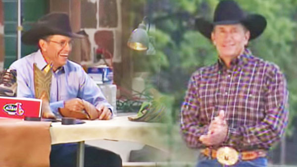 George strait Songs   George Strait - Justin Boots Photo-Shoot (Behind the Scenes) (WATCH)   Country Music Videos