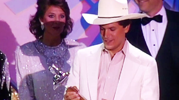 George strait Songs | Young George Strait Wins Album of the Year (1986) | Country Music Videos