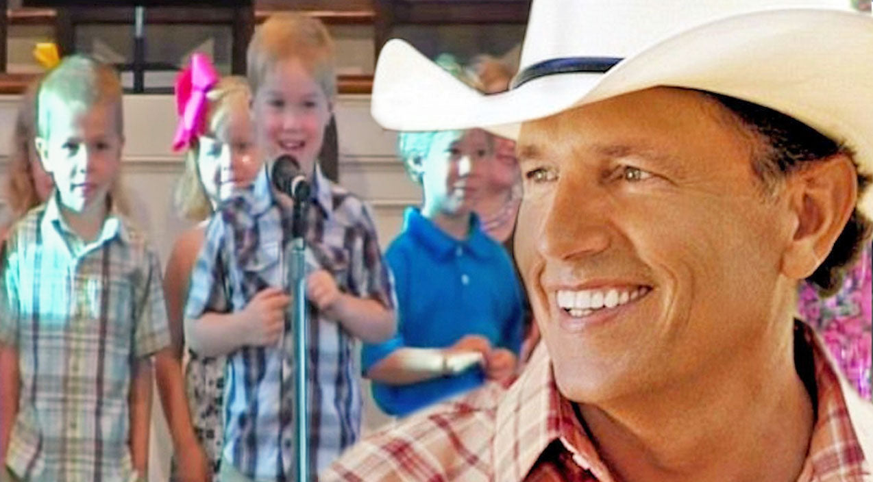 George strait Songs | The Cutest Four Year-Old Recites Bible Names & Some George Strait | Country Music Videos