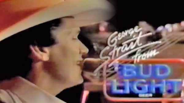 George strait Songs | George Strait - Bud Light Promo (circa 1990) (VIDEO) | Country Music Videos