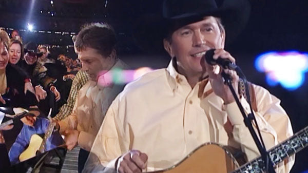 George Strait - The Cowboy Rides Away (Live From The Astrodome) | Country Music Videos