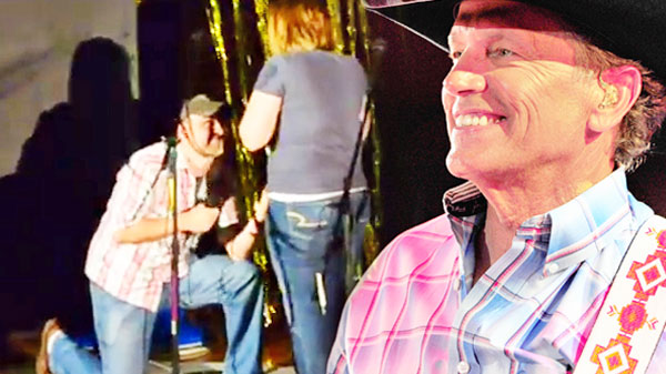George strait Songs | Country Boy Proposes To His Girlfriend Singing George Strait's