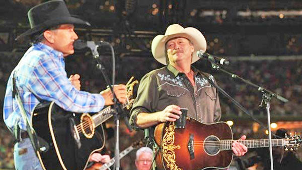 George strait Songs   Alan Jackson - Designated Drinker (Duet with George Strait) (WATCH)   Country Music Videos