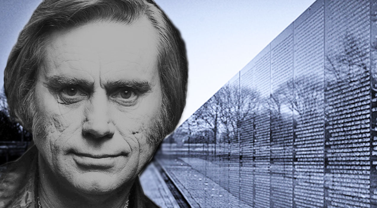 George jones Songs | George Jones Pays Tribute To Fallen Soldiers In '50,000 Names Carved In The Wall' | Country Music Videos
