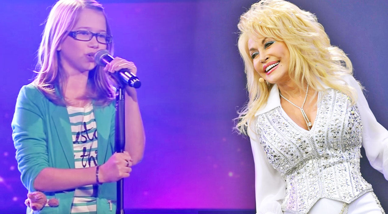 Dolly parton Songs | 13-Year-Old German Girl Covers Dolly Parton's 'I Will Always Love You' On The Voice | Country Music Videos