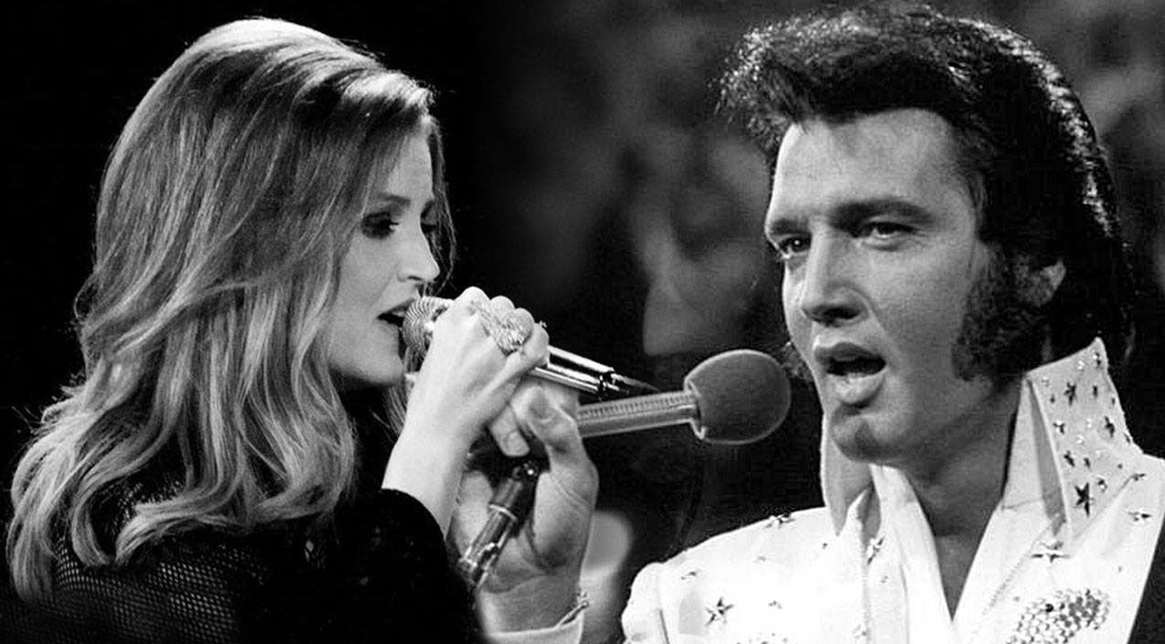 Lisa marie presley Songs | Elvis Presley And His Daughter, Lisa Marie Presley, Singing 'In The Ghetto' Will Bring Y'all To Tears | Country Music Videos